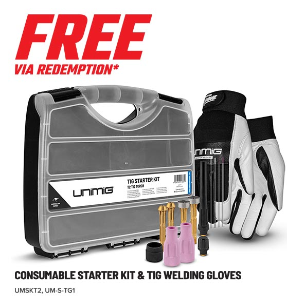 FREE CONSUMABLE KIT & GLOVES